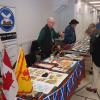 New Brunswick Scottish Cultural Association table.