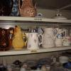 A selection of ceramic jugs in the provincial furniture collection.